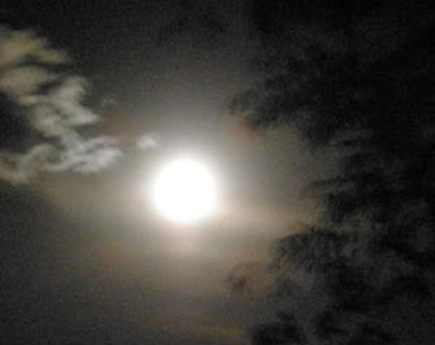 Mystical full moon