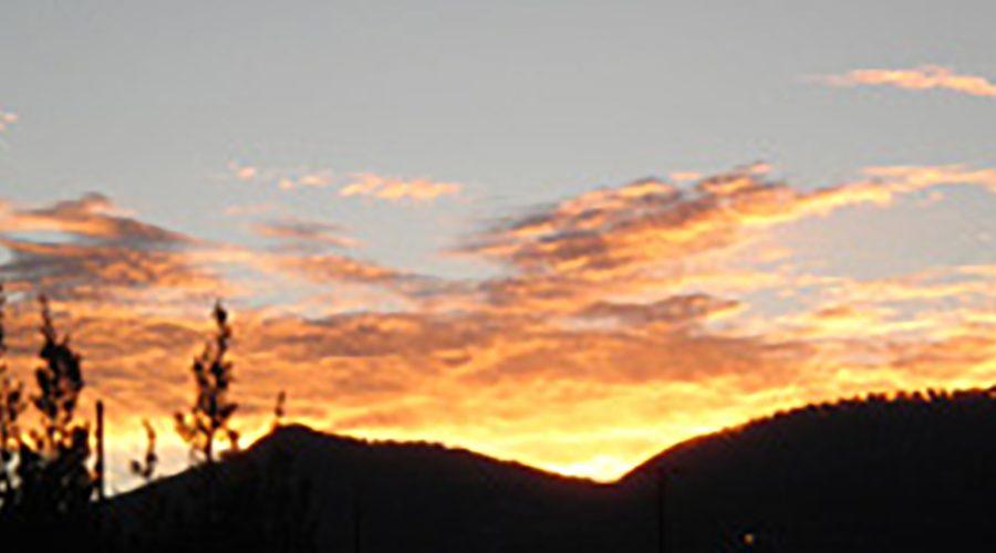 Sacred sunrise