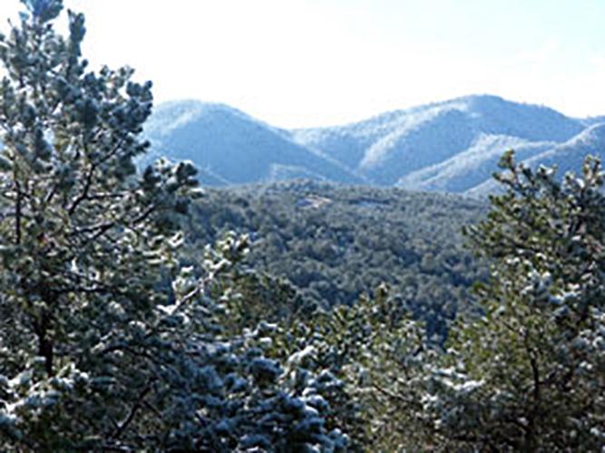 First snow vista