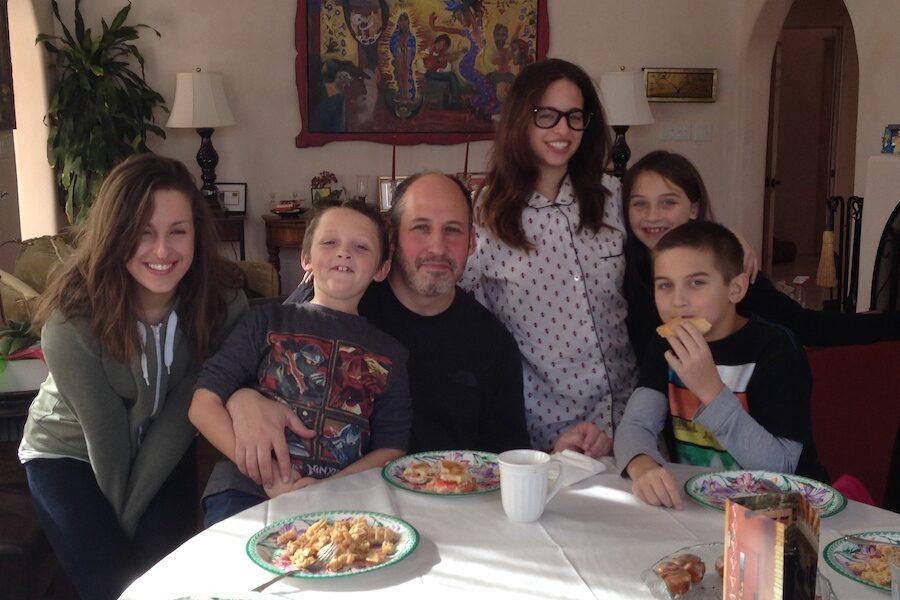 Family love holiday cheer