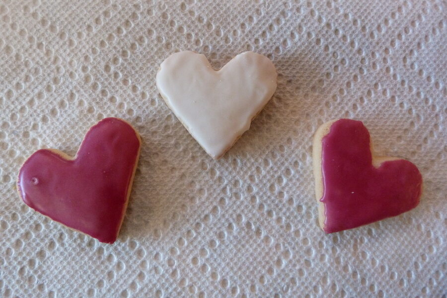 Grateful for Love and compassion in a cookie